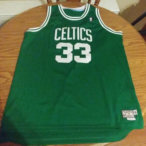 huge discount fc74e b1b9c 2011 Men's Larry Bird #33 Celtics Vintage Jersey